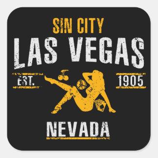 Adesivo Quadrado Las Vegas
