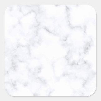 Adesivo Quadrado Mármore branco