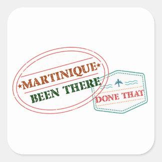 Adesivo Quadrado Martinica feito lá isso