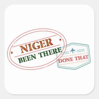 Adesivo Quadrado Niger feito lá isso