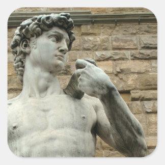 Adesivo Quadrado O David 1 de Michelangelo