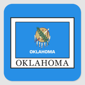 Adesivo Quadrado Oklahoma