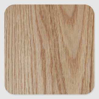 Adesivo Quadrado Olhar da grão da madeira de carvalho