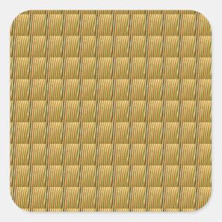 Adesivo Quadrado Os azulejos DIY do cristal de Goodluck adicionam o