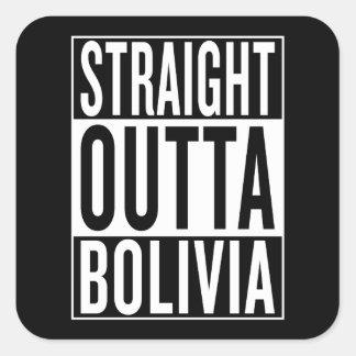 Adesivo Quadrado outta reto Bolívia