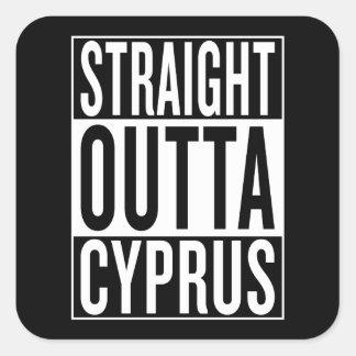 Adesivo Quadrado outta reto Chipre