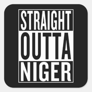 Adesivo Quadrado outta reto Niger
