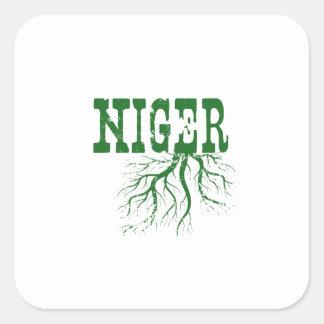 Adesivo Quadrado Raizes de Niger