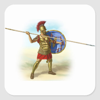 Adesivo Quadrado romanos