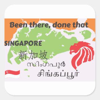 Adesivo Quadrado Singapore