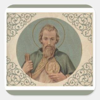 Adesivo Quadrado St. Jude o primo do apóstolo de Jesus