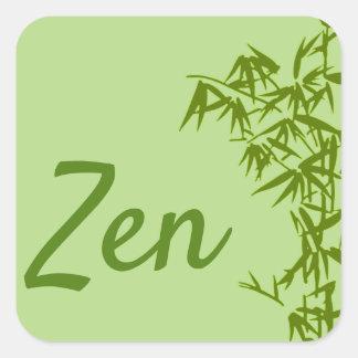 Adesivo Quadrado Sticker clássico Zen