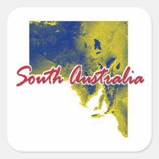Adesivo Quadrado Sul da Austrália