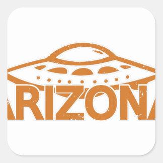 Adesivo Quadrado UFO da arizona