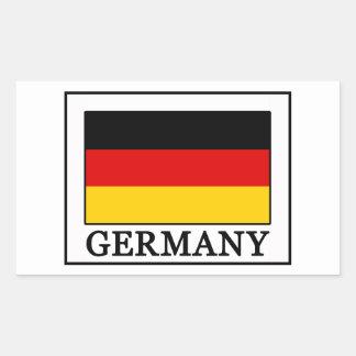 Adesivo Retangular Alemanha