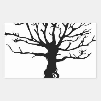 Adesivo Retangular Árvore de Everwatching