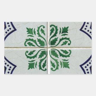 Adesivo Retangular Azulejos, Portuguese Tiles