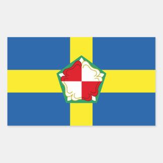 Adesivo Retangular Bandeira de Pembrokeshire
