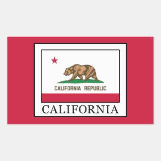 Adesivo Retangular Califórnia
