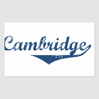 Adesivo Retangular Cambridge