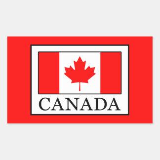 Adesivo Retangular Canadá