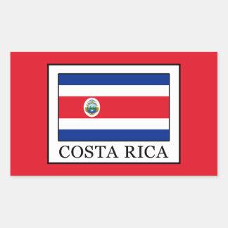 Adesivo Retangular Costa Rica