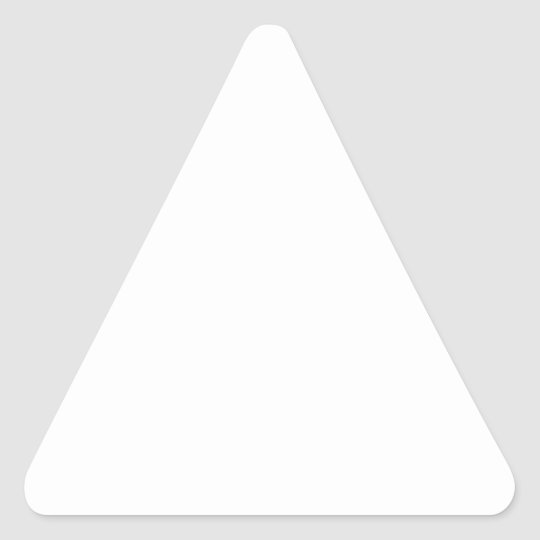 Adesivos Triangulares