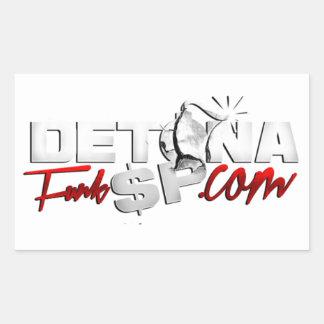 Adesivo Retangular Detona Funk
