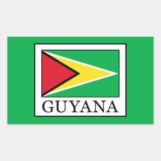 Adesivo Retangular Guyana