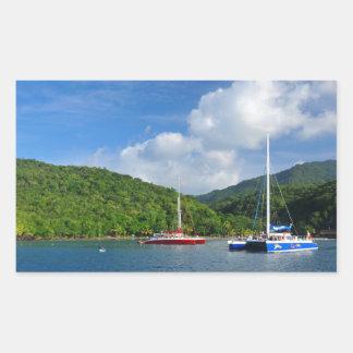 Adesivo Retangular Martinica