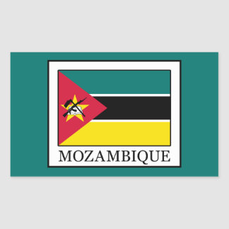 Adesivo Retangular Mozambique