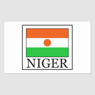 Adesivo Retangular Niger