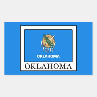 Adesivo Retangular Oklahoma