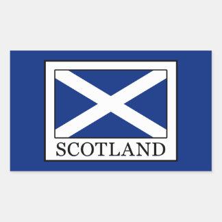 Adesivo Retangular Scotland