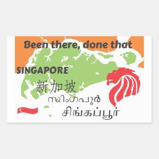 Adesivo Retangular Singapore
