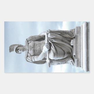 Adesivo Retangular Soldado romano
