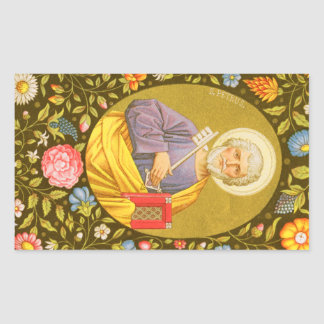 Adesivo Retangular St Peter o apóstolo (PM 07)