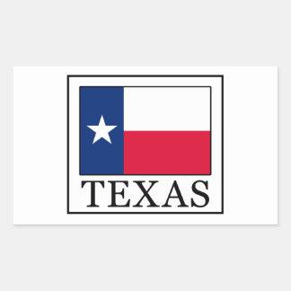 Adesivo Retangular Texas