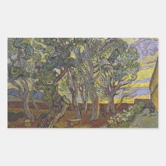 Adesivo Retangular Vincent van Gogh - a colheita (para Emile Bernard)
