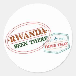 Adesivo Rwanda feito lá isso