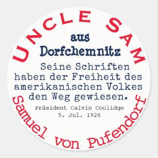 Adesivo Samuel de Pufendorf