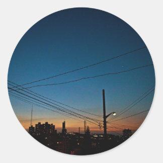 Adesivo São Paulo Skyline III