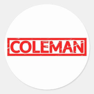 Adesivo Selo de Coleman