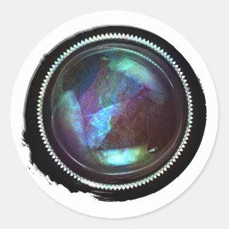 Adesivo Selo místico da crista do Opal do topázio da cera