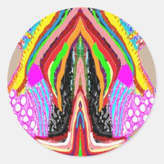 Adesivo Sensualidade artística do gráfico da imaginação