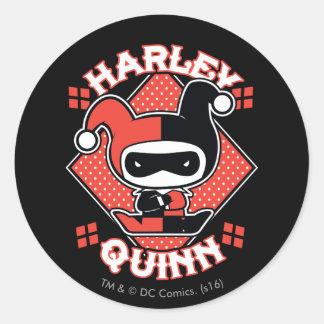 Adesivo Separações de Chibi Harley Quinn
