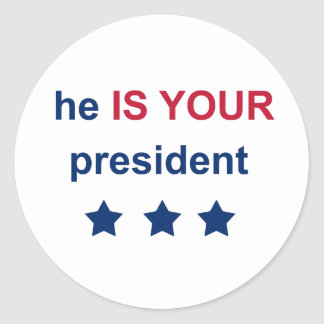 Adesivo Seu presidente