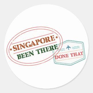 Adesivo Singapore feito lá isso