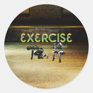 Adesivo Slogan SUPERIOR do exercício
