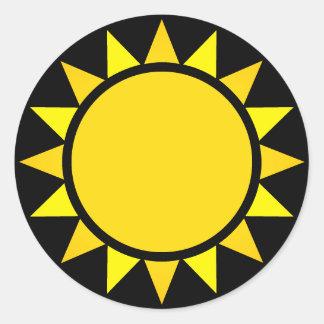 Adesivo Sun perfeito Emoji